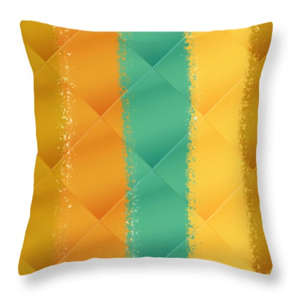 Sunrise Sunset Throw Pillow by Bonnie Bruno