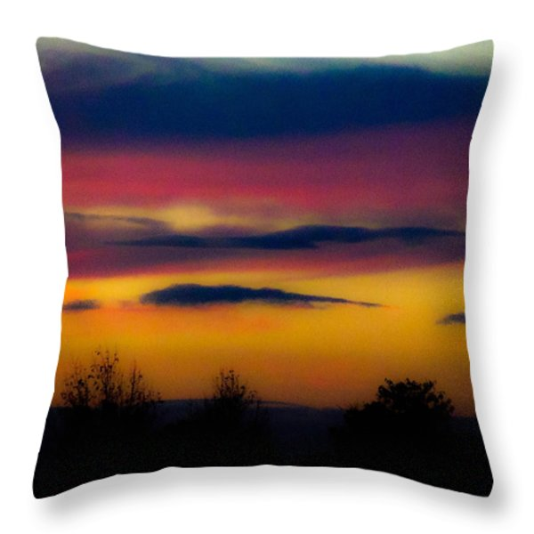Sunset Serenity Throw Pillow by Joe Bledsoe