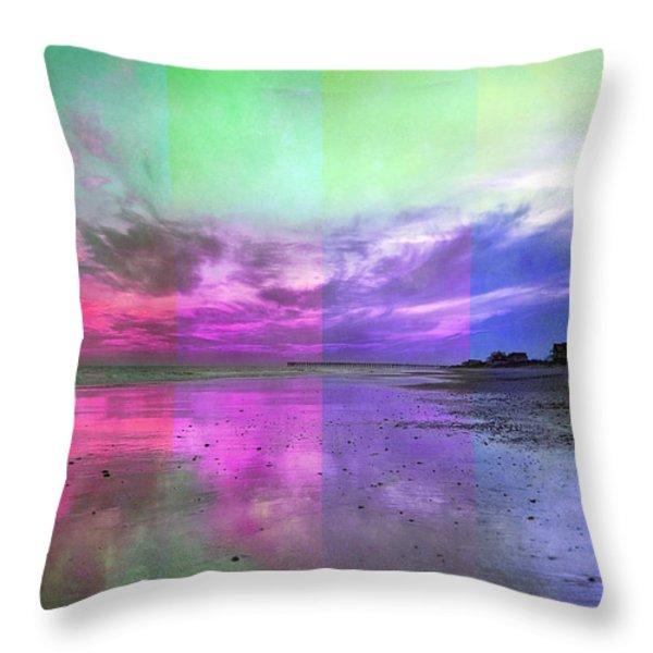 Sunset Spirits Throw Pillow by Betsy A  Cutler