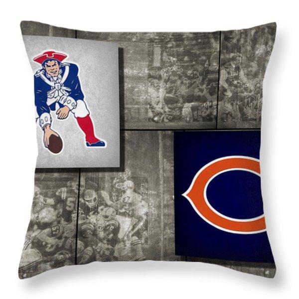 Super Bowl 20 Throw Pillow by Joe Hamilton