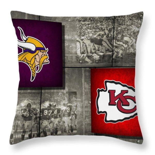 Super Bowl 4 Throw Pillow by Joe Hamilton