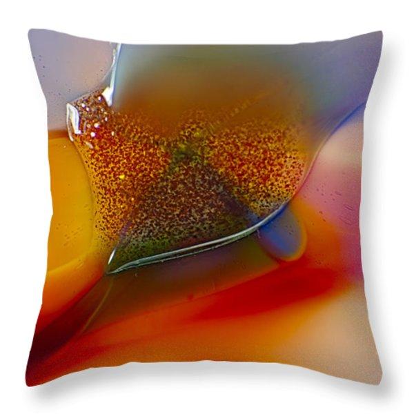 Surfing Throw Pillow by Omaste Witkowski