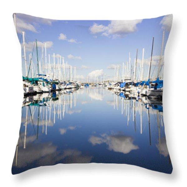 Surreal  Throw Pillow by Heidi Smith