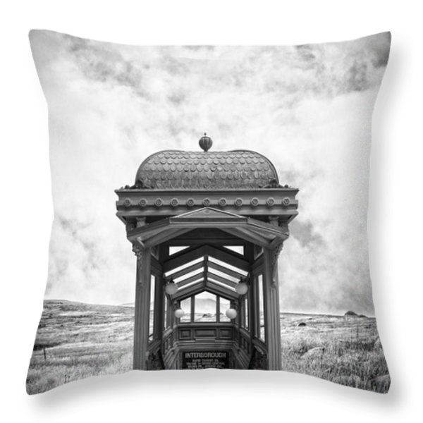 Subway Surreal Throw Pillow by Edward Fielding