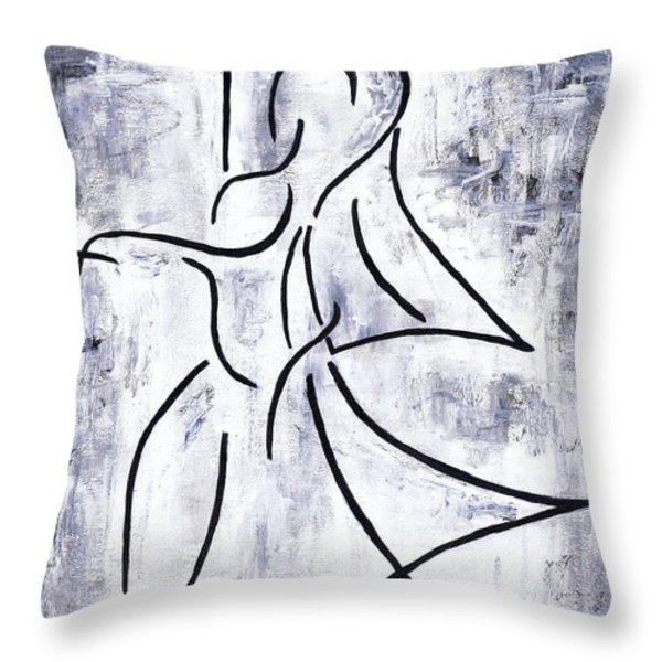 Swan Lake Throw Pillow by Kamil Swiatek