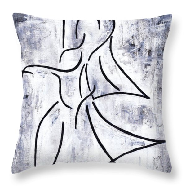 Swan Lake Throw Pillow by Kamil Swiatek