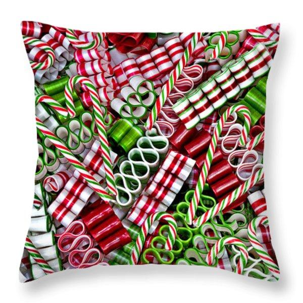 Sweet Christmas 2 Throw Pillow by Carole Gordon