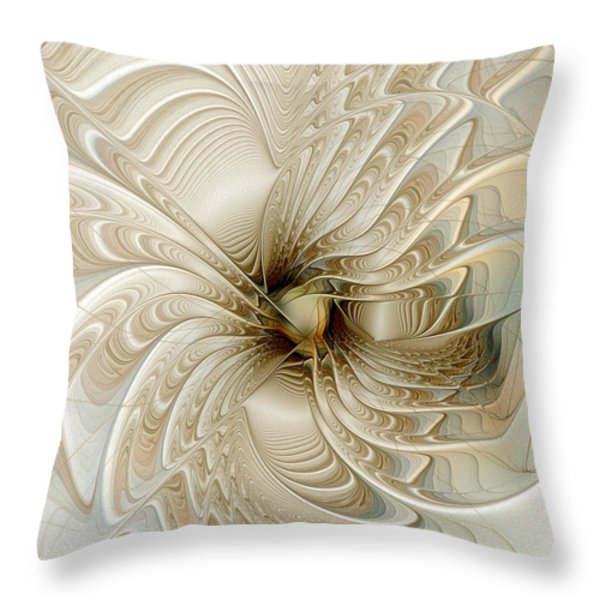 Sweet Dream Throw Pillow by Amanda Moore