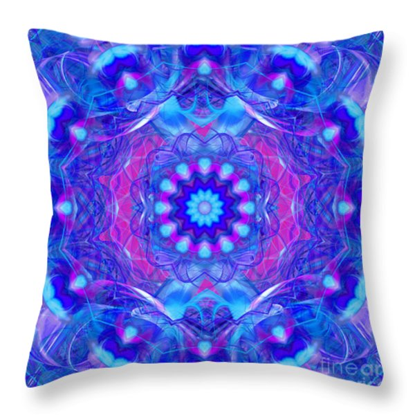 Sweet Hearts Throw Pillow by Hanza Turgul