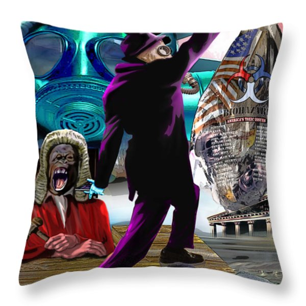 Sweet Land Of Liberty Throw Pillow by Reggie Duffie