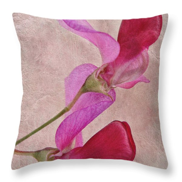 Sweet Textures 2 Throw Pillow by John Edwards