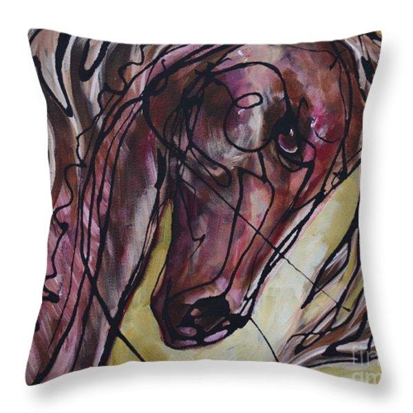 Swing Throw Pillow by Jonelle T McCoy