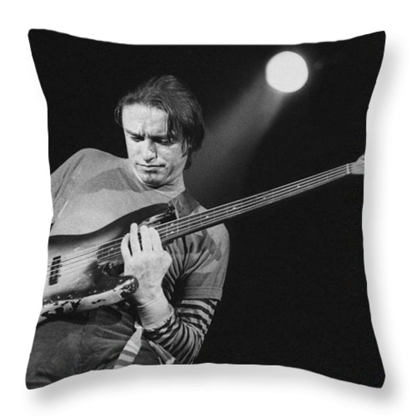 Swingin above the moon Throw Pillow by Philippe Taka