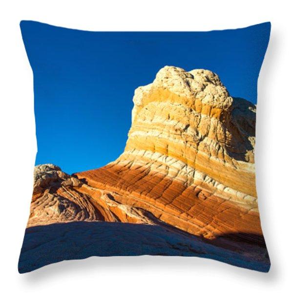 Swirl Throw Pillow by Chad Dutson