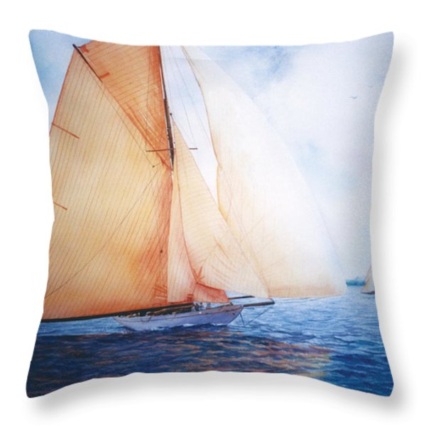 SYCE Throw Pillow by Marguerite Chadwick-Juner