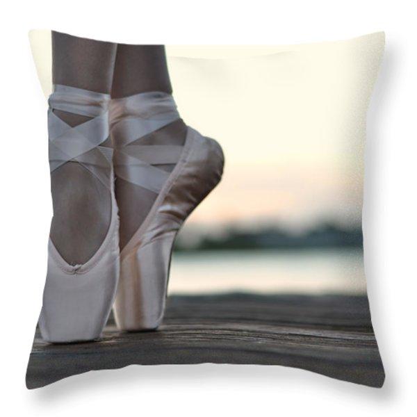 Sylph Throw Pillow by Laura  Fasulo