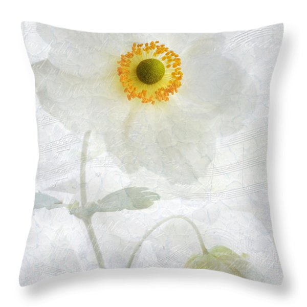 Symphony Throw Pillow by John Edwards