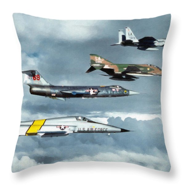 TAC Throw Pillow by Dale Jackson