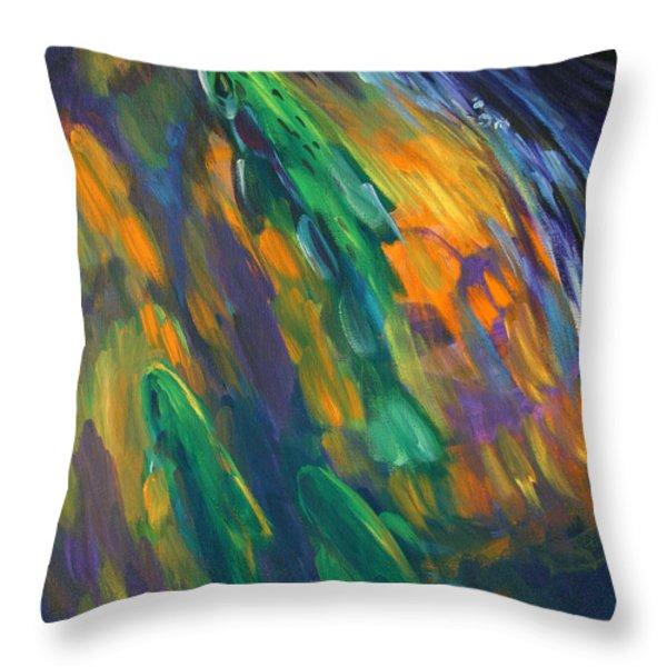 Tailwater Take Throw Pillow by Mike Savlen