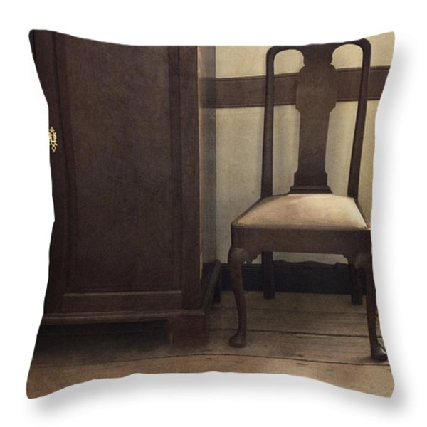 Take A Seat Throw Pillow by Margie Hurwich