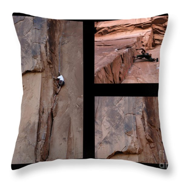 Take Action No Caption Throw Pillow by Bob Christopher