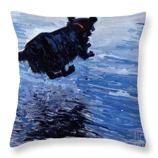 Take Flight Throw Pillow by Molly Poole