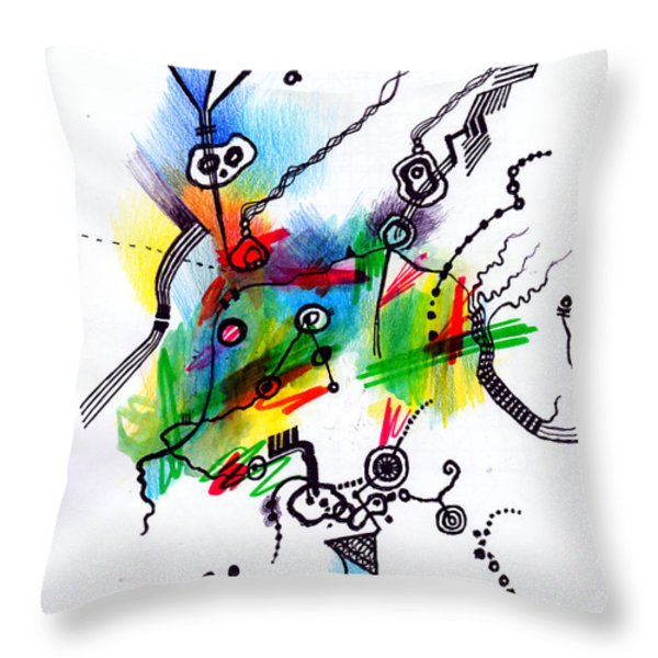 Take me to your leader  Throw Pillow by Andy  Mercer