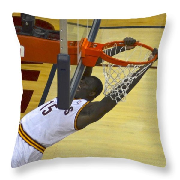 Take That Throw Pillow by Frozen in Time Fine Art Photography