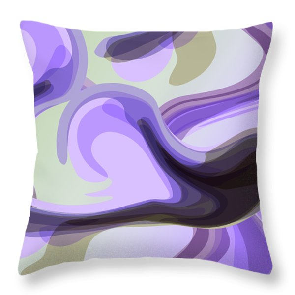 Talk To Me 2 Throw Pillow by Angelina Vick