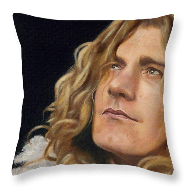 Tangerine Throw Pillow by Jena Rockwood