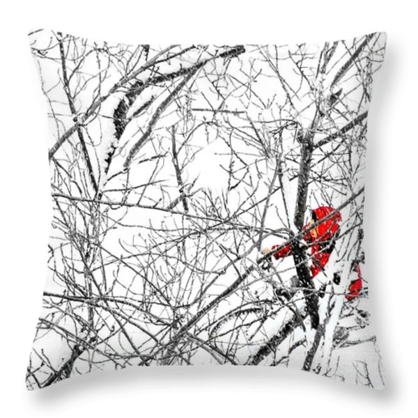 Tangled Throw Pillow by Diana Angstadt