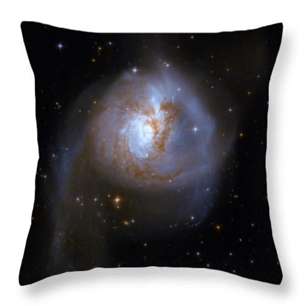 Tear Drop Galaxy Throw Pillow by The  Vault - Jennifer Rondinelli Reilly