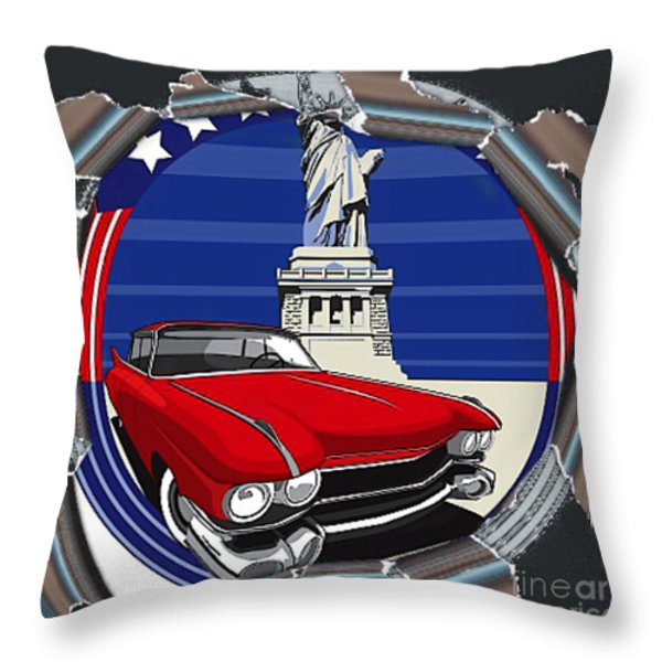 Tear Open The Past Throw Pillow by M and L Creations