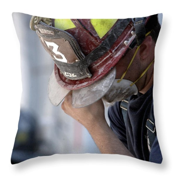 Tears for the Fallen Throw Pillow by Mountain Dreams