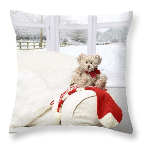 Throw Pillow On Chair : Window Scene Throw Pillows for Sale