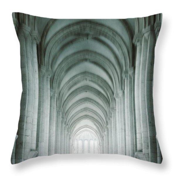 Temple Walker Throw Pillow by Carlos Caetano