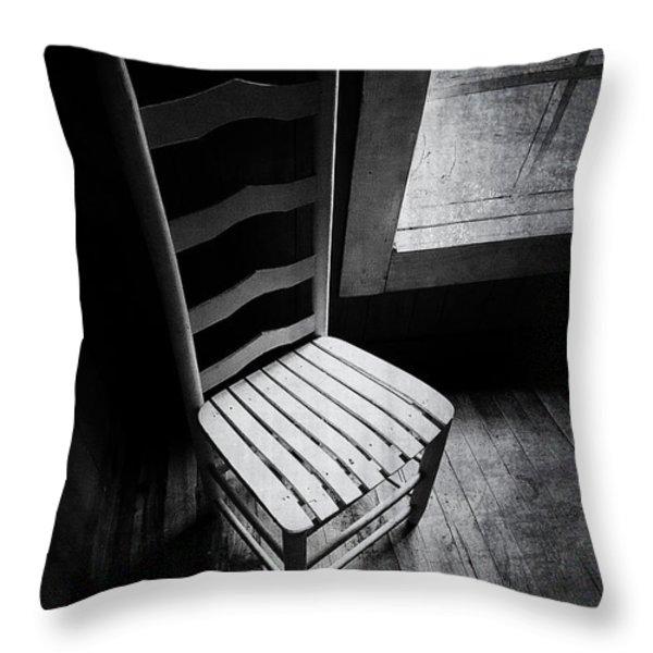 Ten Feet Tall Throw Pillow by Cris Hayes