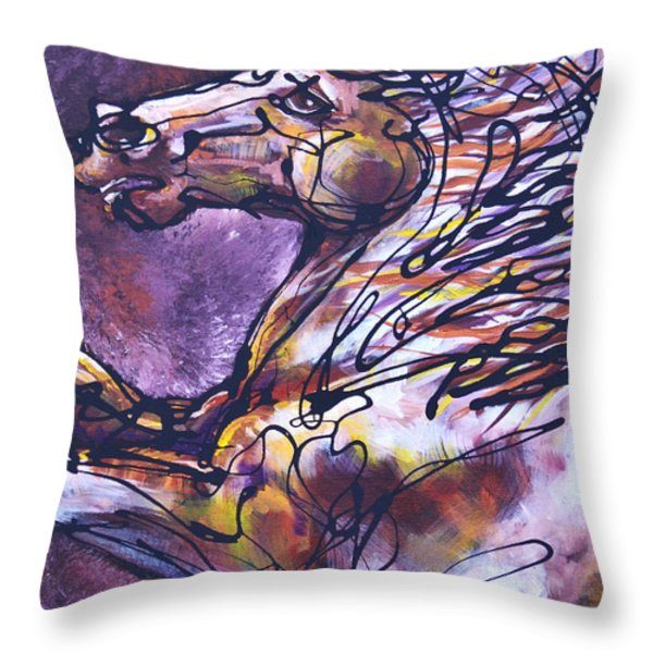 Tension Throw Pillow by Jonelle T McCoy