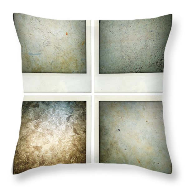 Textures Throw Pillow by Les Cunliffe