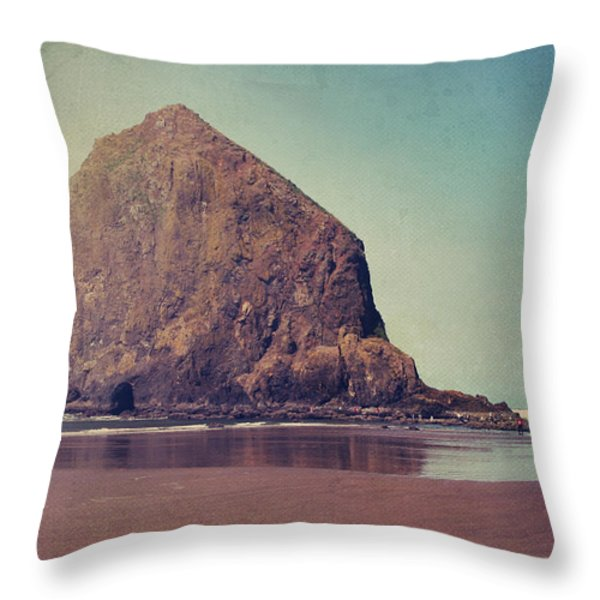 That Feeling In The Air Throw Pillow by Laurie Search