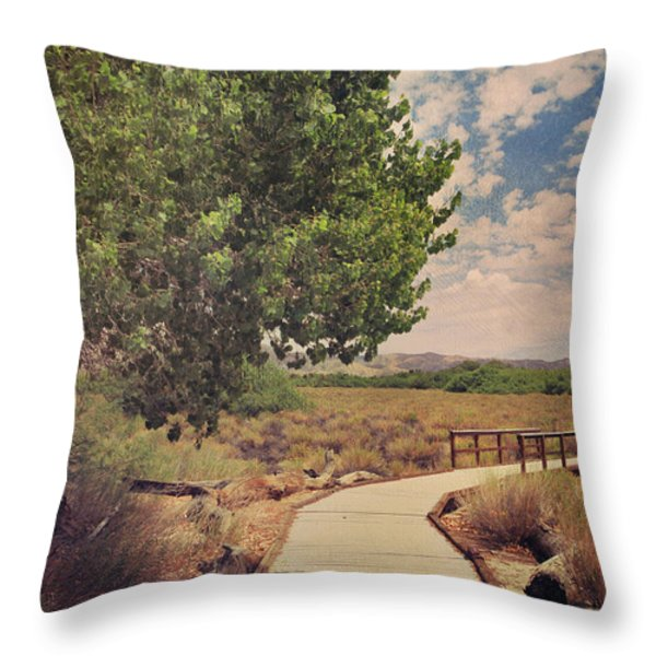 That Helping Hand Throw Pillow by Laurie Search