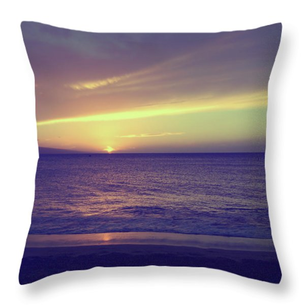 That Peaceful Feeling Throw Pillow by Laurie Search