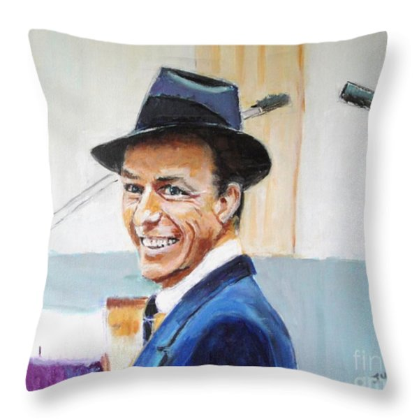 That's Life Throw Pillow by Judy Kay