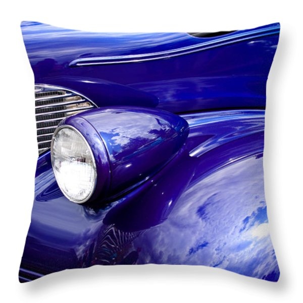 The 1939 Chevy Coupe Throw Pillow by David Patterson