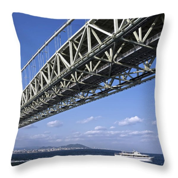 THE 8TH WONDER of the WORLD Throw Pillow by Daniel Hagerman
