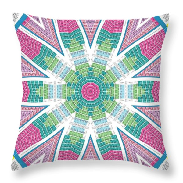 The Alignment Of The Elements Throw Pillow by Dan Sproul