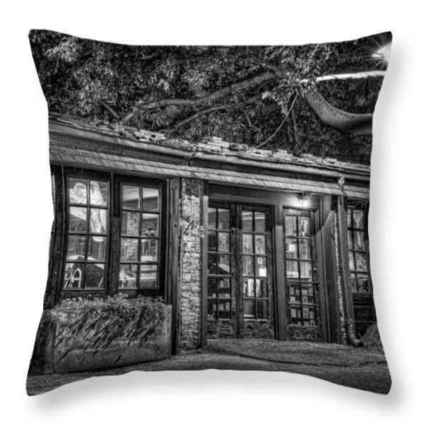 The Alley Gallery Throw Pillow by Scott Norris
