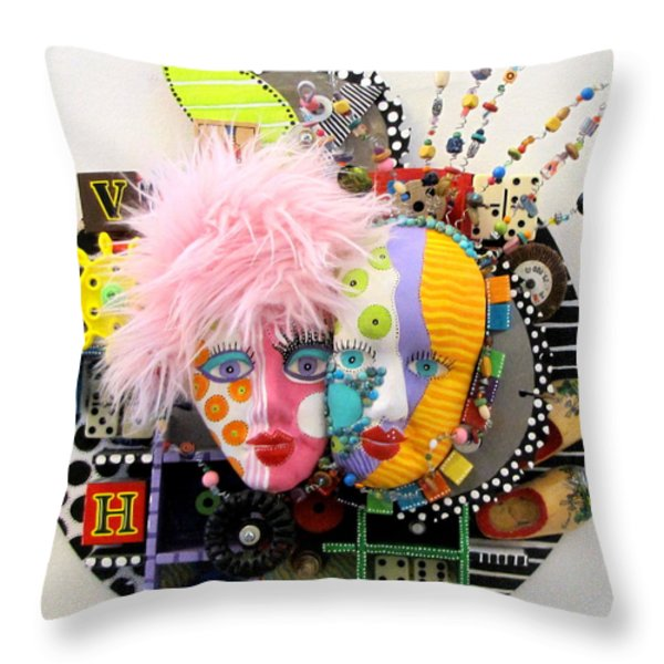 The Apple Doesnt Fall Far Throw Pillow by Keri Joy Colestock