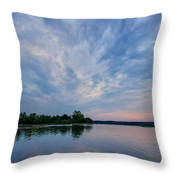 The Approaching Storm Throw Pillow by Adam Mateo Fierro