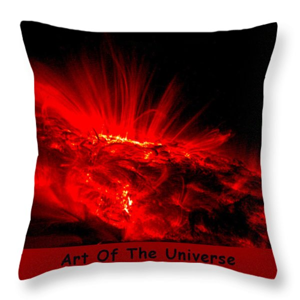The Art Of The Universe 307 Throw Pillow by The Hubble Telescope